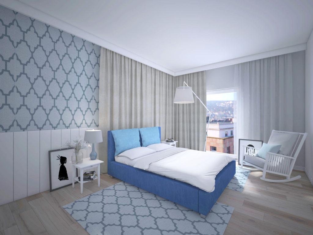 Łóżko Tapicerowane Cordoba