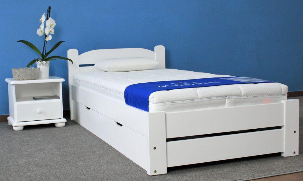Łóżko drewniane sosnowe Ametyst