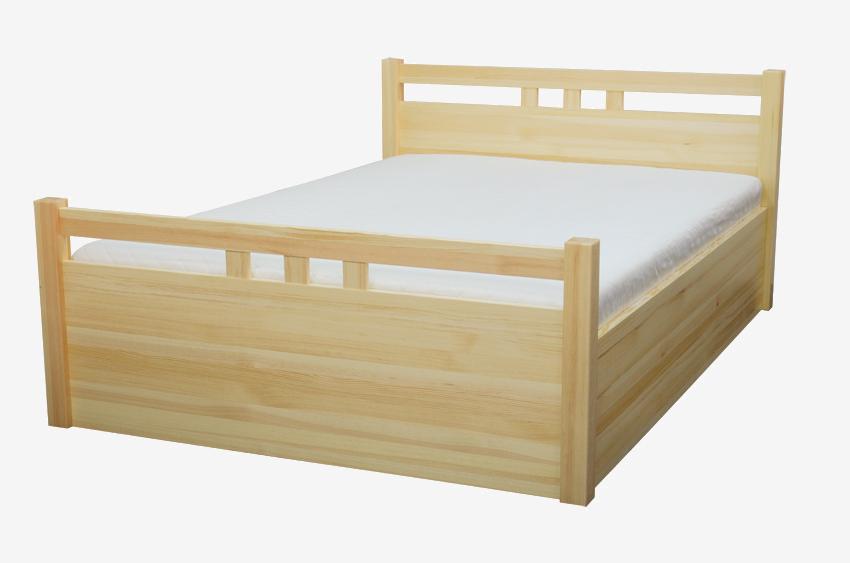 Łóżko drewniane sosnowe Malachit