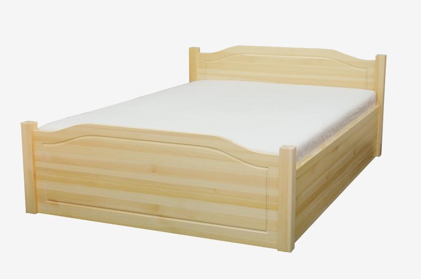 Łóżko drewniane sosnowe Olwin