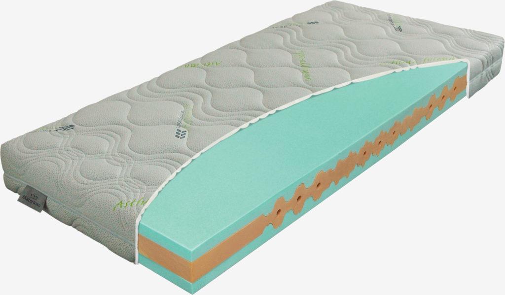 Materac piankowy Viscogreen