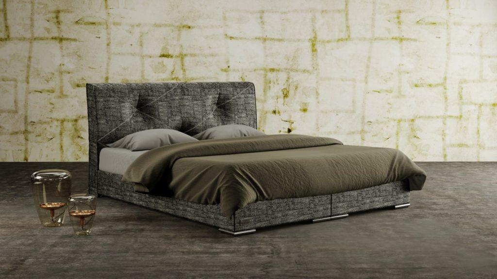 Łóżko Tapicerowane Atlas