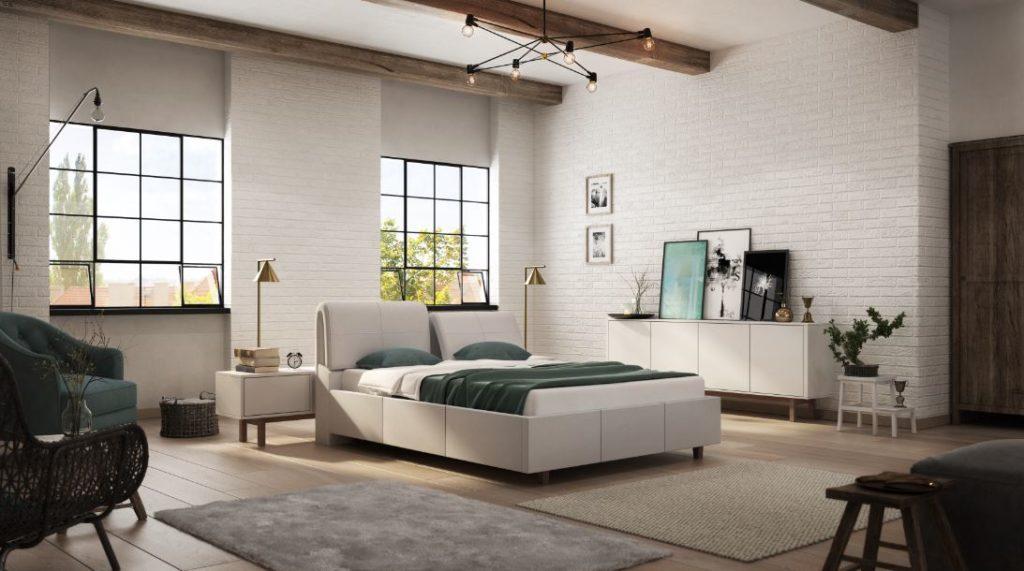 Łóżko tapicerowane Desire 2000