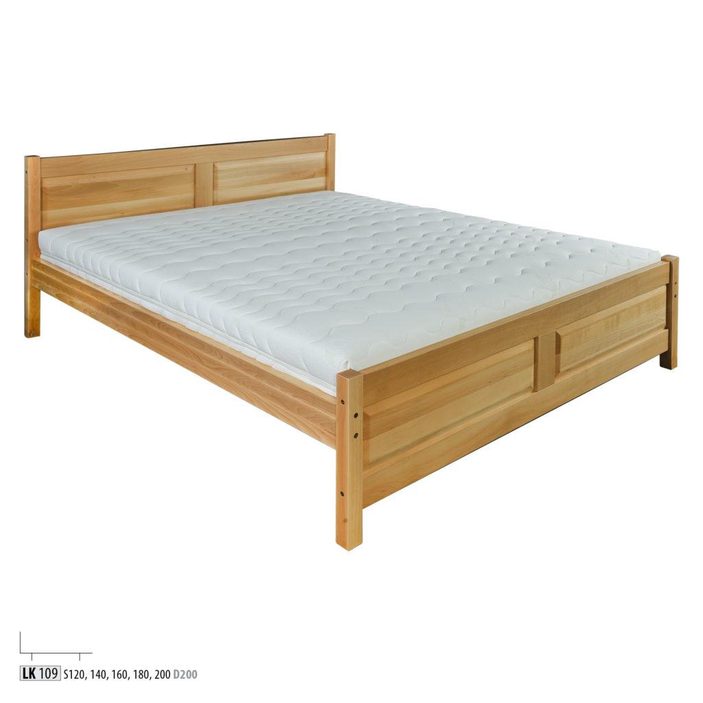 Łóżko bukowe - LK120 - LK109
