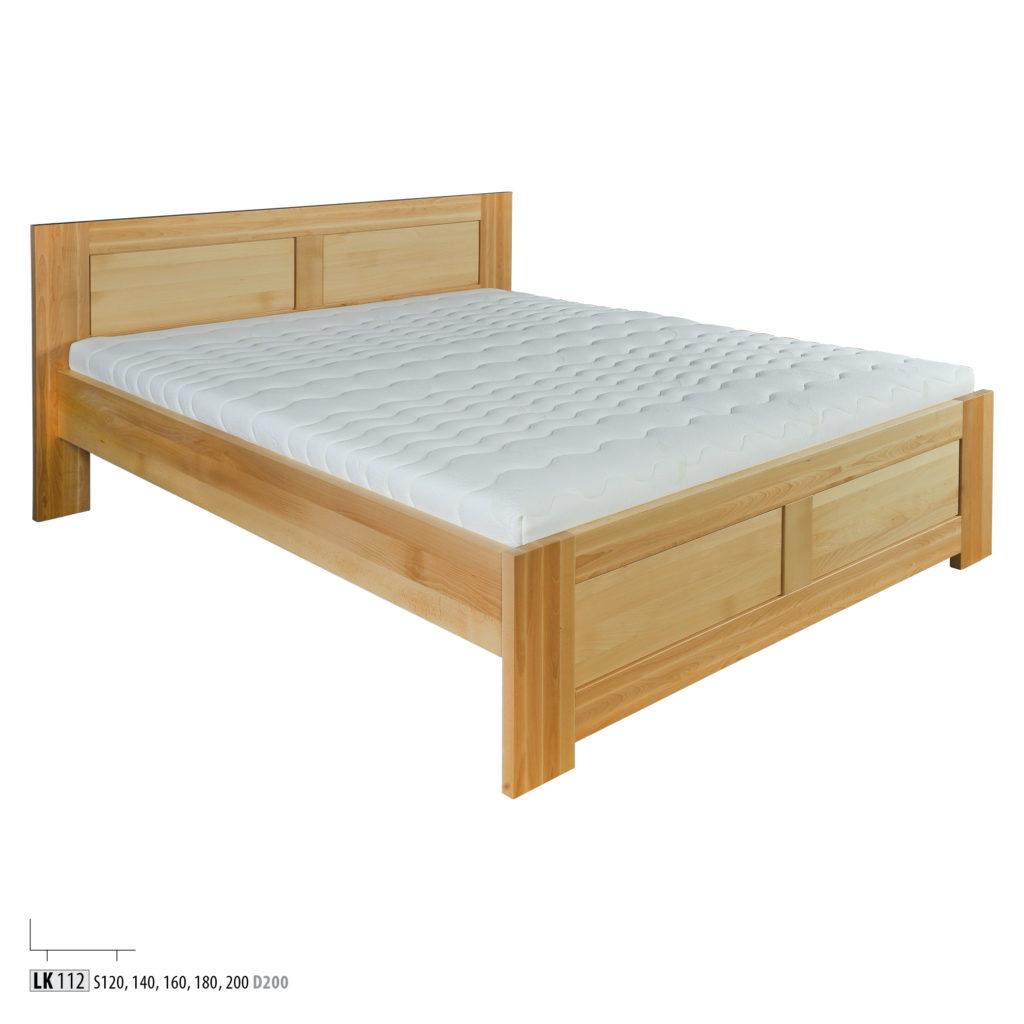 Łóżko bukowe - LK161 - LK112