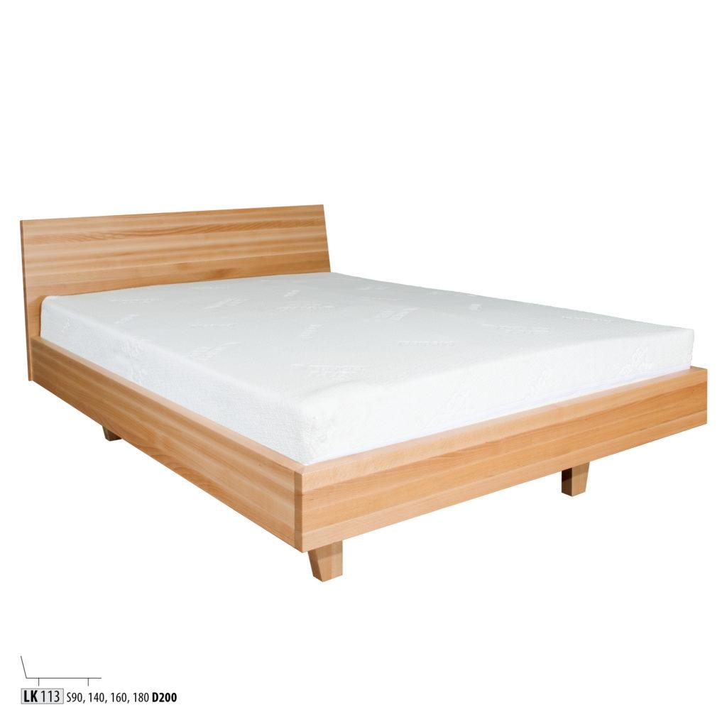 Łóżko bukowe - LK113
