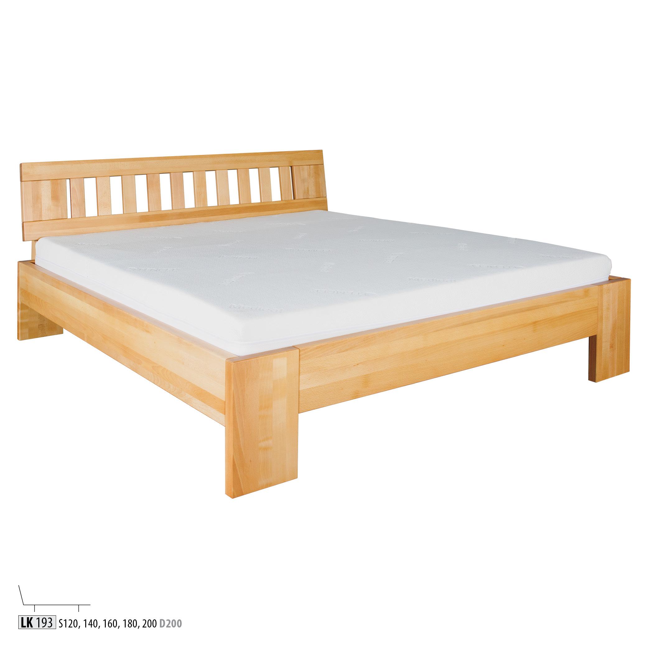 Łóżko bukowe - LK183 - LK193