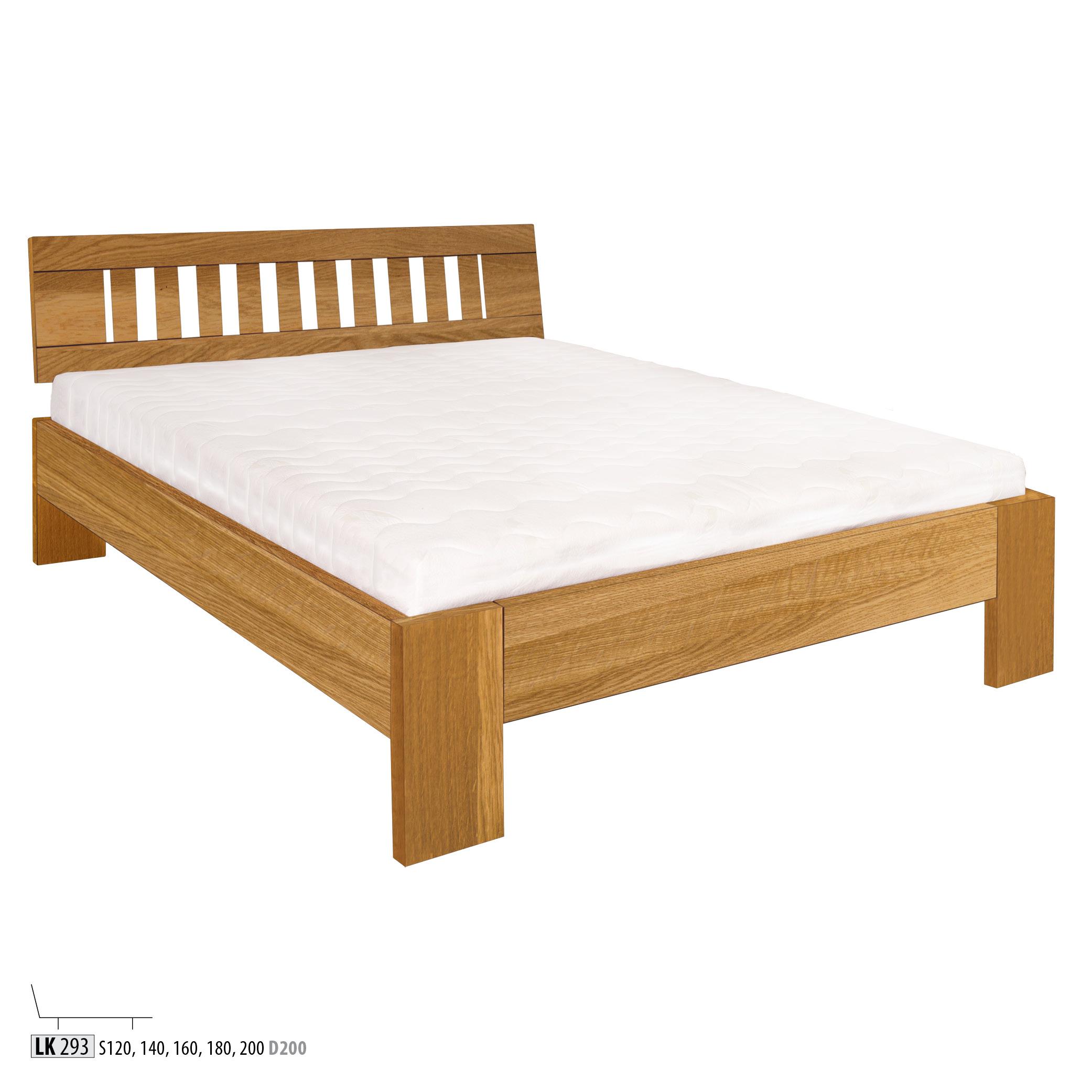 Łóżko dębowe - LK283 - LK293