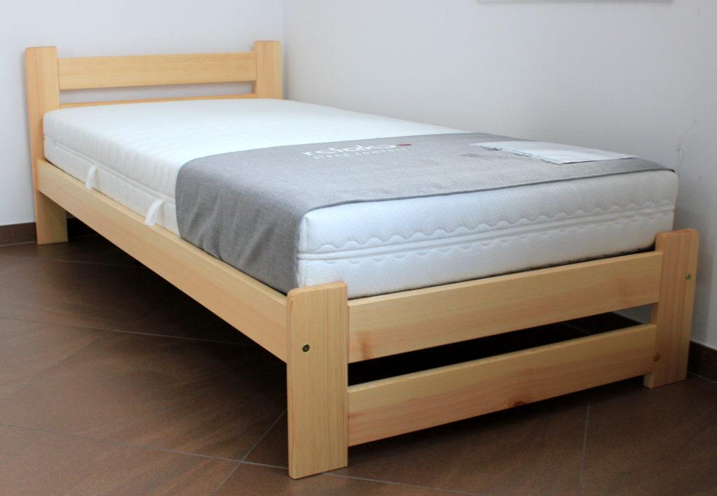 Łóżko drewniane sosnowe Pol