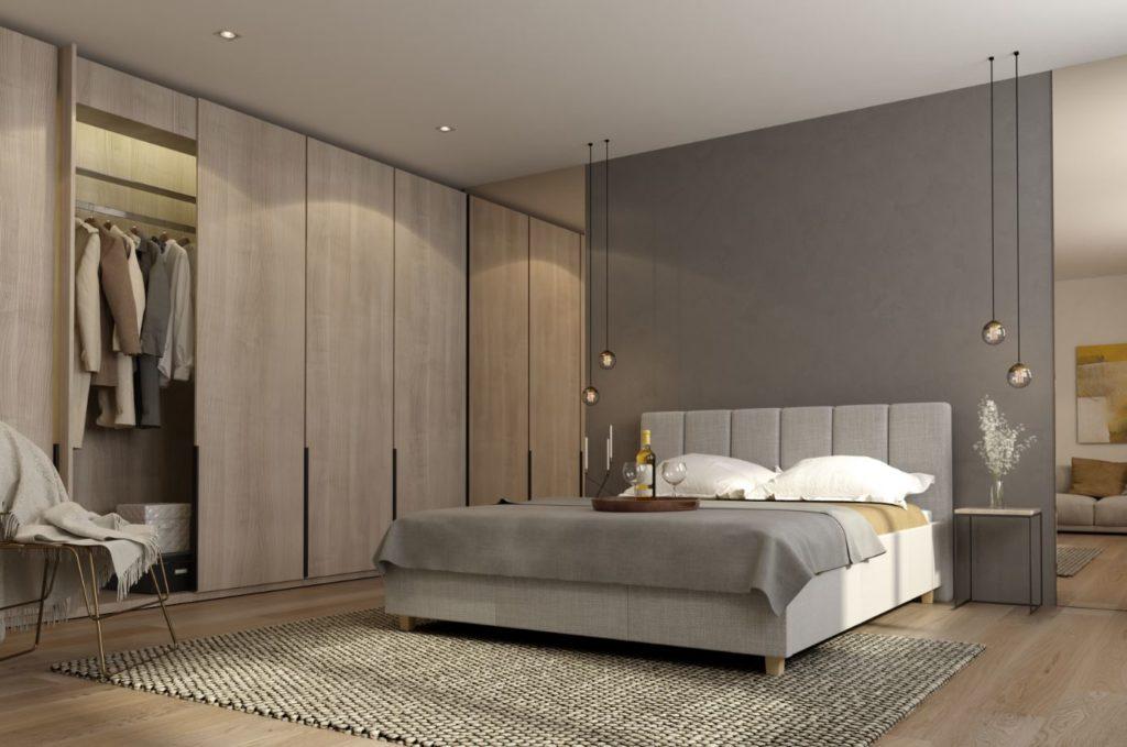 Łóżko Tapicerowane Ferno