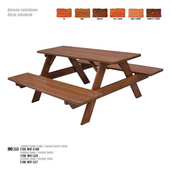 Ławo-stół - MO260