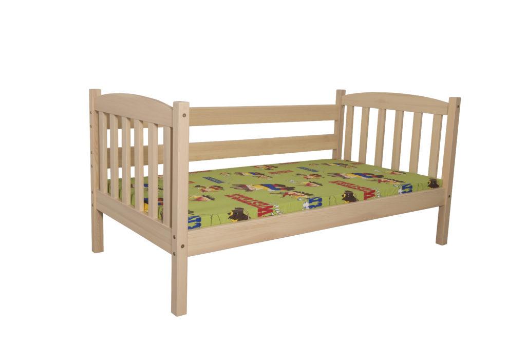 Łóżko dziecięce-młodzieżowe sosnowe LM211/LM212