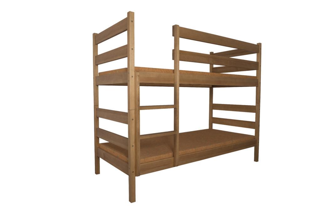 Łóżko dziecięce-młodzieżowe sosnowe LMP101/LMP102
