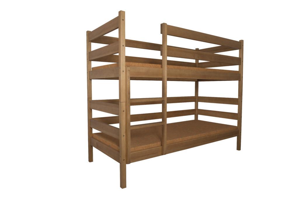Łóżko dziecięce-młodzieżowe sosnowe LMP111/LMP112