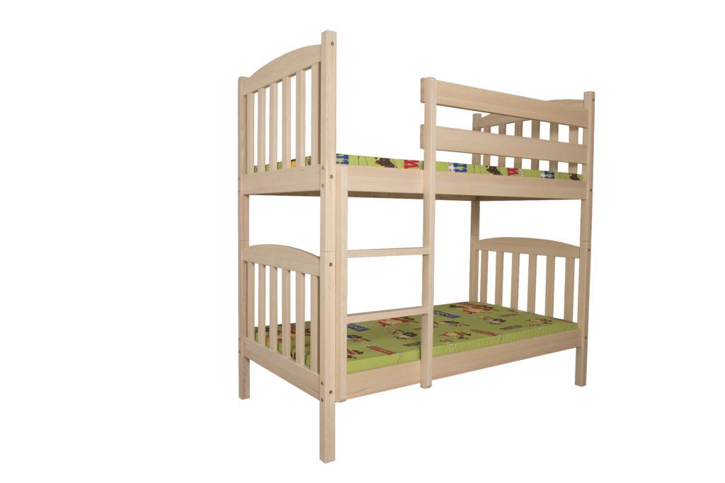 Łóżko dziecięce-młodzieżowe sosnowe LMP201/LMP202