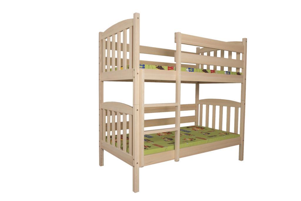 Łóżko dziecięce-młodzieżowe sosnowe LMP211/LM212