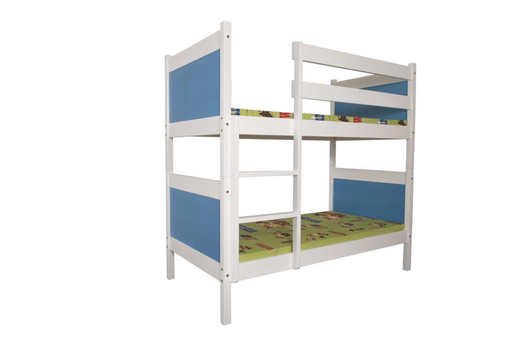 Łóżko dziecięce-młodzieżowe sosnowe LMP301/LMP302