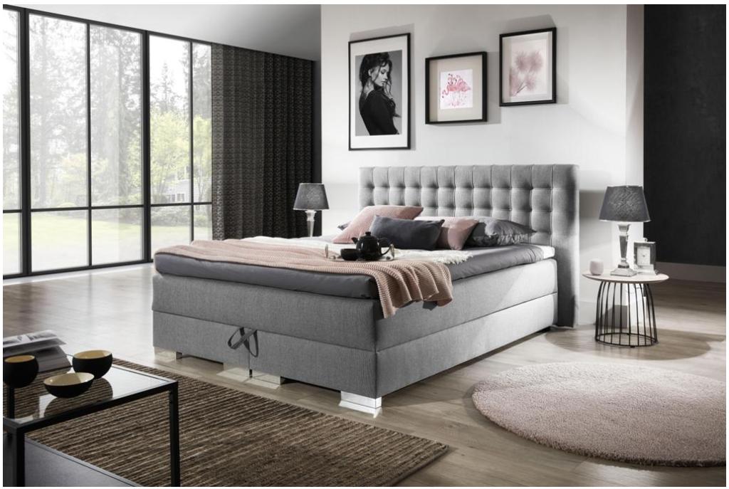 Łóżko kontynentalne KACPER