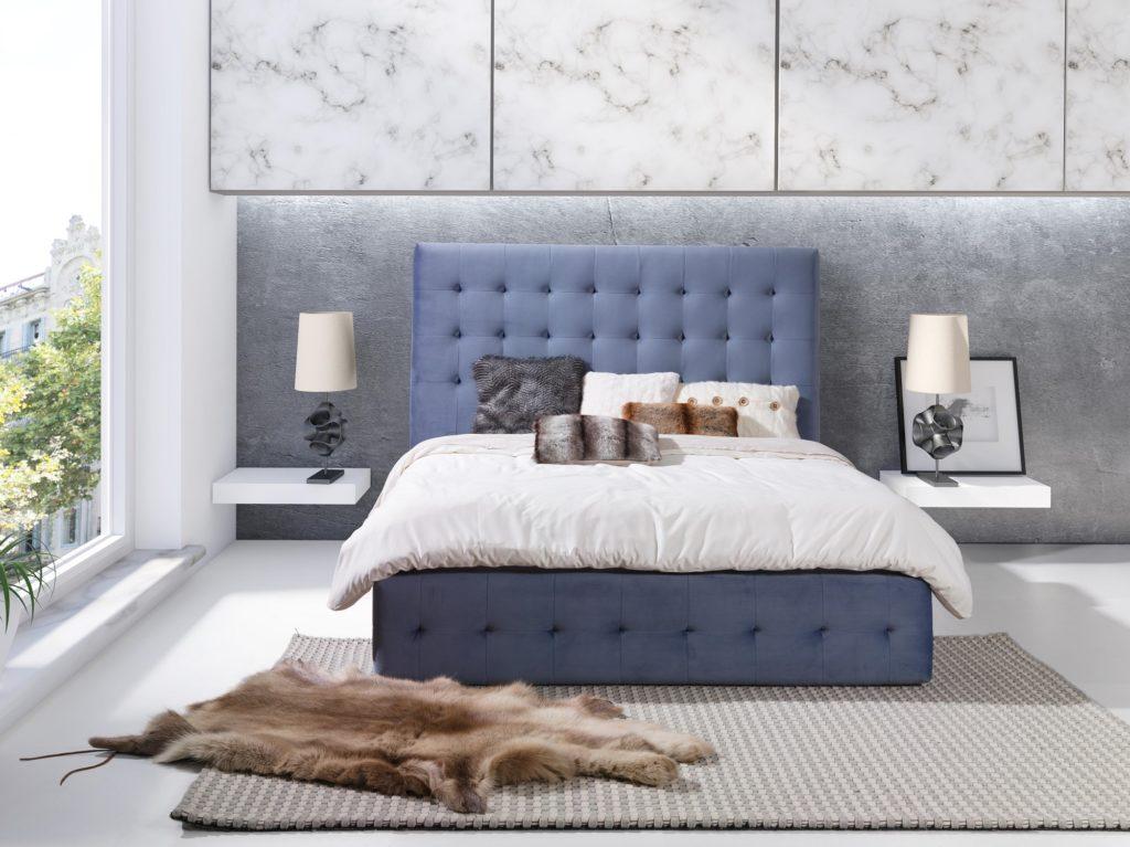 Łóżko tapicerowane PATRYCJA