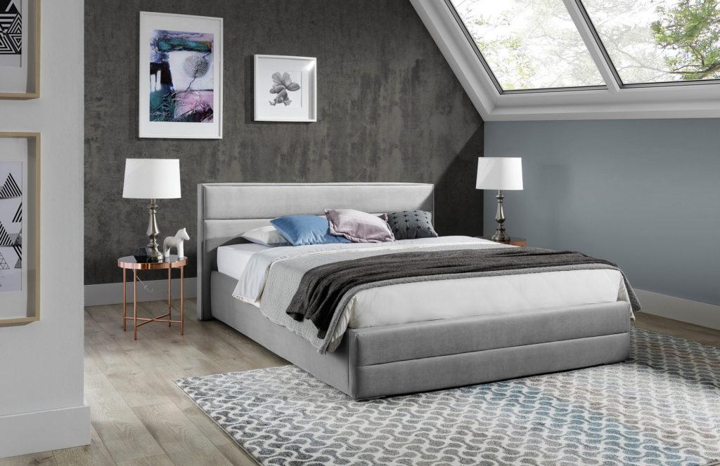 Łóżko tapicerowane TOMEK 88