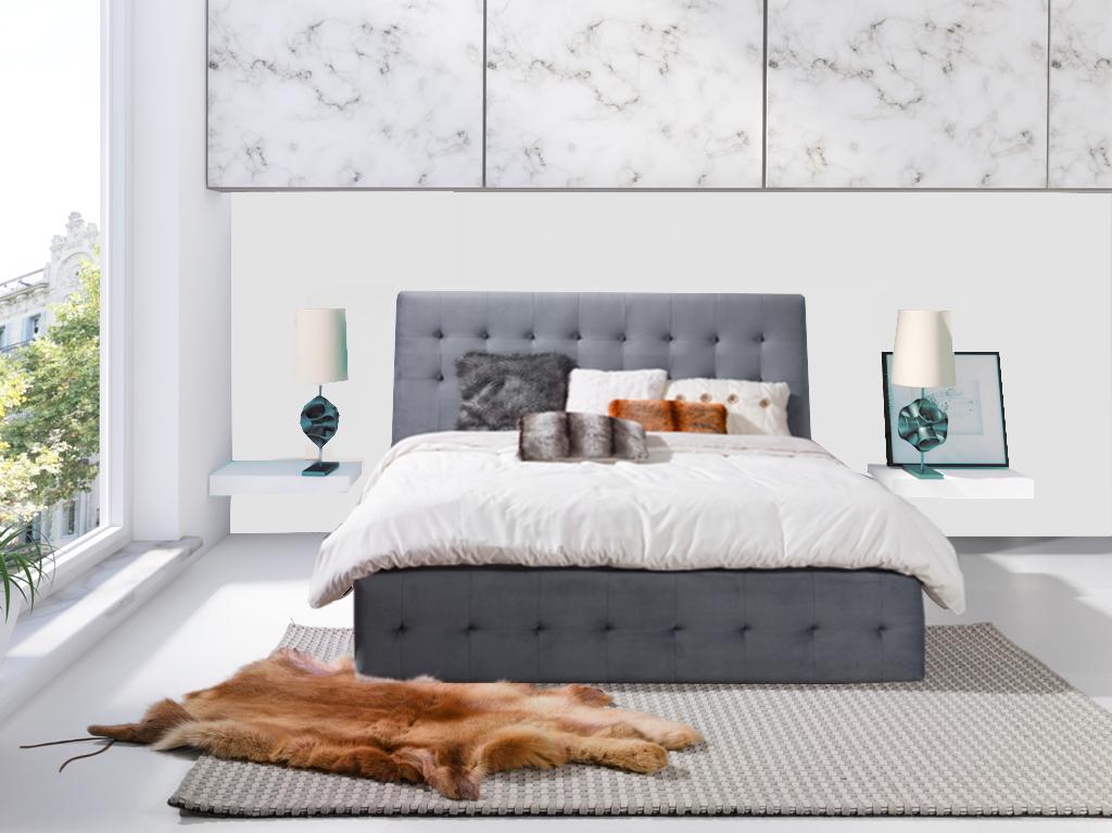 Łóżko tapicerowane PATRYCJA 2